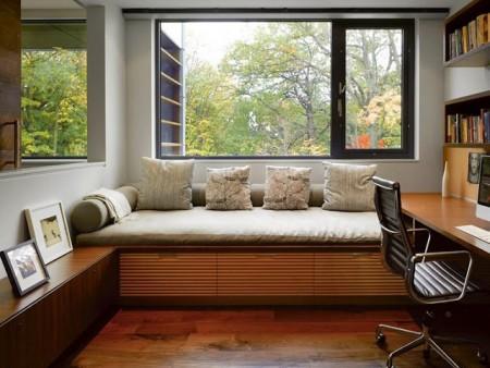 интерьеры домашних кабинетов