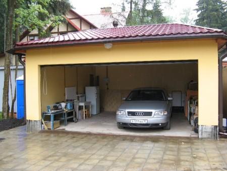виды гаражей на дачном участке