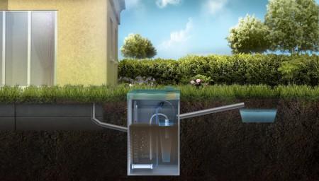 Септик для загородного дома топас